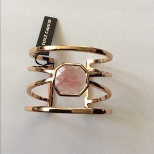 Vince Camuto gold cuff bracelet